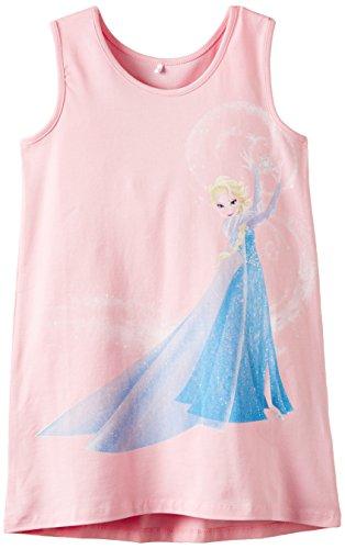 NAME IT, Mädchen Kleid, Disney Eiskönigin Elsa, Frozen Kids Tank 415, Gr. 116, Rosa (Pink Nectar)