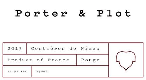 2013 Porter & Plot Costières De Nîmes 750 Ml