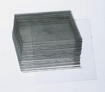 Cover Glasses, 22 X 22 Mm Square, 0.13 To 0.17 Mm Thickness, Approximately 156 Pieces/Box