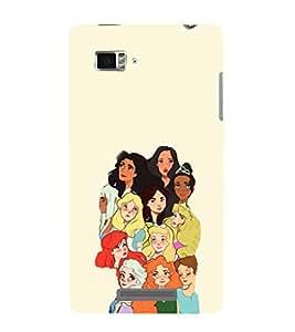 EPICCASE Gang of Toons Mobile Back Case Cover For Lenovo Vibe Z K910 (Designer Case)