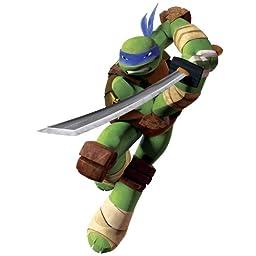 Roommates Rmk2249Gm Teenage Mutant Ninja Turtles Leo Peel And Stick Giant Wall Decals