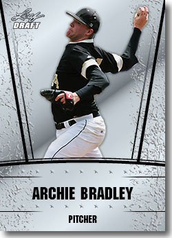 2011 Leaf Draft Silver Prospects Baseball Card #3 Archie Bradley - Arizona Diamondbacks (Prismatic Design)(Rookie / Prospect)(Baseball Trading Cards)