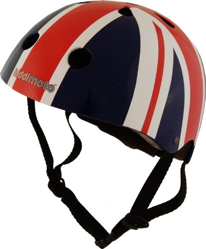 Kiddimoto Kids Union Jack Helmet - Multicoloured, 53-58cm