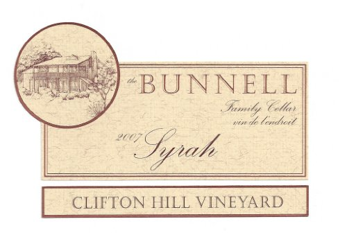 2007 The Bunnell Family Cellar Clifton Hill Vineyard Wahluke Slope Syrah 750 Ml
