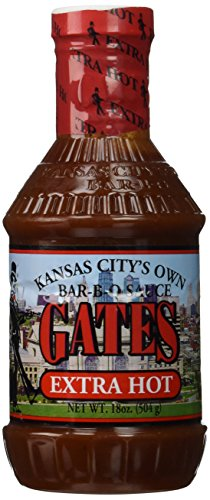 Gates Bar-B-Q Sauce (Extra Hot) (Bbq Sauce From Hell compare prices)