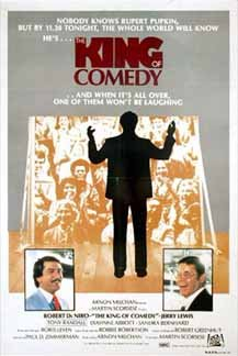 The King Of Comedy Australian Film Poster