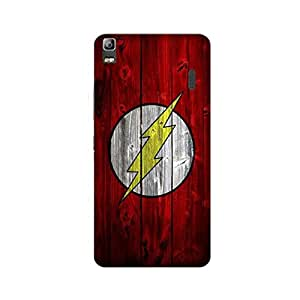 Yashas Lenovo K3 NOTE Designer Printed Case & Covers (Lenovo K3 NOTE Back Cover) - Superhero Flash