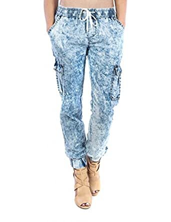 Simple Womens Cargo Jogger Pants At Amazon Womens Clothing Store