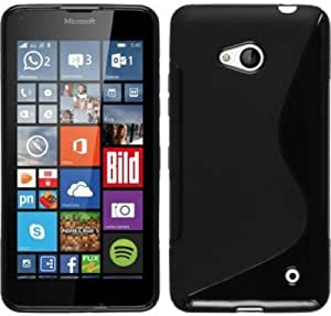 S Fancy Combo Pack Back Cover For Nokia lumia 640+ USB ultra bright led light (Black)