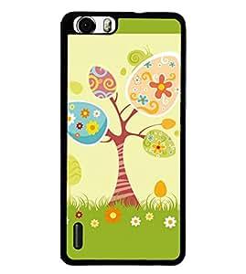 Fuson 2D Printed Designer back case cover for Huawei Honor 6 Plus - D4309