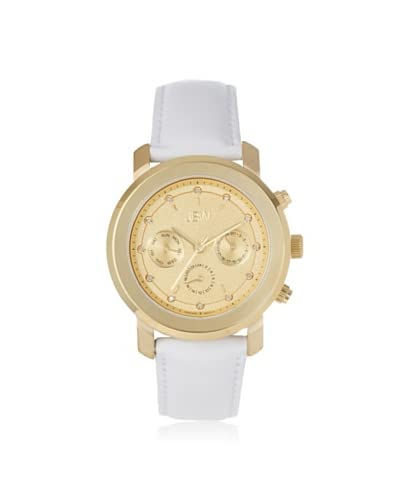 JBW Women's J6276G White/Gold Stainless Steel Watch As You See