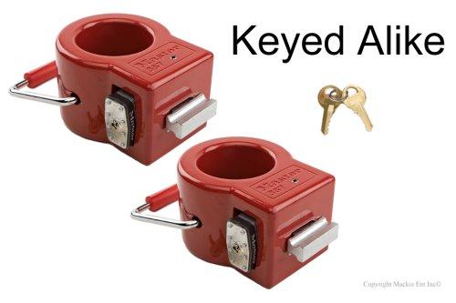Master King Pin Lock-Toy Hauler/Trailer Locks #387KA-2