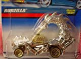 Mattel Hot Wheels 1999 1:64 Scale Chrome Rodzilla Die Cast Car Collector #991