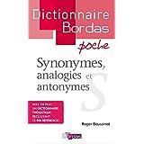 Dictionnaire poche des synonymes, analogies et antonymespar Roger Boussinot