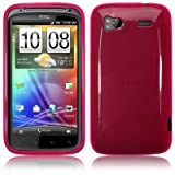 HTC Sensation / Sensation XE Gel Skin Case / Cover Hot Pink PART OF THE QUBITS ACCESSORIES RANGEby TERRAPIN