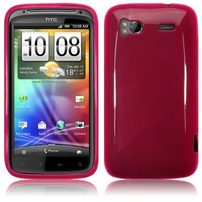 HTC SENSATION GEL SKIN CASE / COVER HOT PINK PART OF THE QUBITS ACCESSORIES RANGE PART OF THE QUBITS ACCESSORIES RANGE