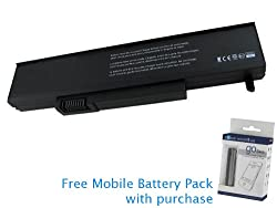 Gateway W35044LB-SP Battery 53Wh, 4800mAh with free Mobile Battery Pack