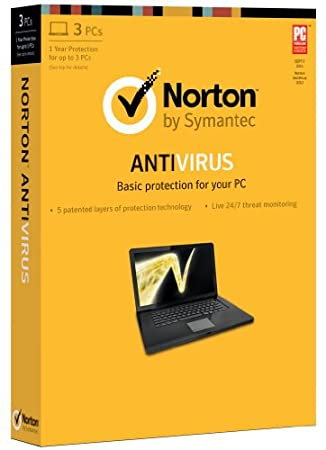 Norton Antivirus 2013 - 1 User / 3 PC