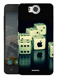 "Dices And Fruit Printed Designer Mobile Back Cover For ""Google Infocus M530"" By Humor Gang (3D, Matte Finish, Premium Quality, Protective Snap On Slim Hard Phone Case, Multi Color)"