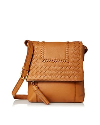 Isabella Fiore Women's Reno Cross-Body, Cognac