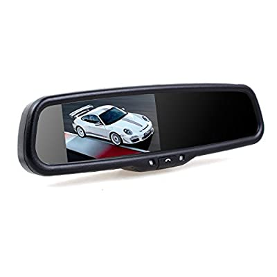 Auto Vox Bluetooth Rear View Mirror Variation from The Rear View Camera Center