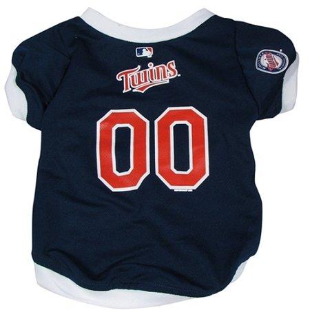 MLB Dog Clothing - Minnestoa Twins Dog Jersey - Large цена и фото