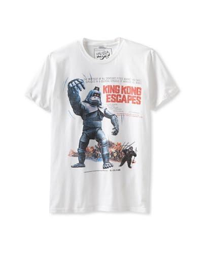 Killer Tees Men's King Kong Ringspun Tee  [White]