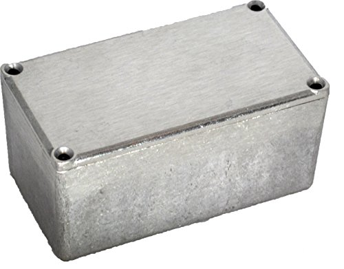 "Bud Industries Cu-479 Aluminum Econobox, 4-23/64"" Length X 2-23/64"" Width X 2-1/8"" Height, Natural Finish"