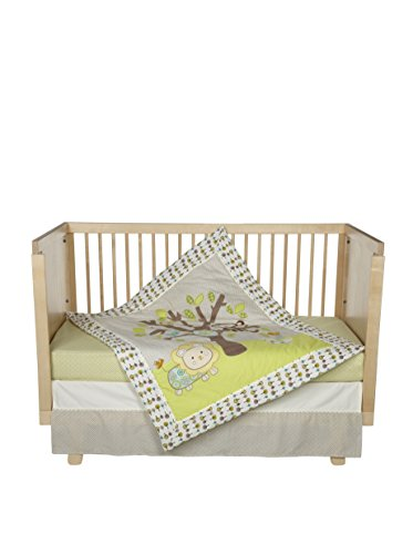 Lolli Living 4pc Crib Set- Animal Tree - 1