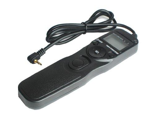 【タイマー機能付】キヤノン/コンタックス/ペンタックス/サムスン等 RS-60E3 EOS 70D 互換 タイマーリモートコントローラー