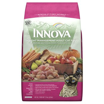 Image of Innova Low Fat Dry Cat Food 15lb
