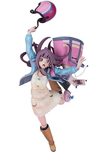 Hdge technical statue No.8 ローリング☆ガールズ 森友望未 ノンスケールATBC-PVC&ABS製 塗装済みフィギュア