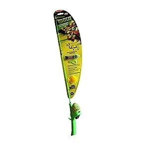 Kid Casters Teenage Mutant Ninja Turtles Rod and Reel Fishing Kit for Kids