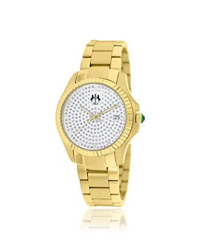 Jivago Women's JV3214 Jolie Yellow/Crystals Stainless Steel Watch