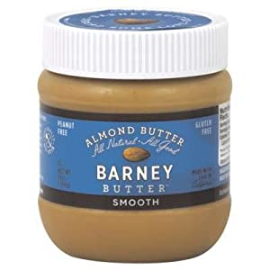 Barney Butter Smooth Almond Butter, 10 oz Jars