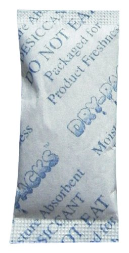 New Dry-Packs 3gm Cotton Silica Gel Packet, Pack of 20