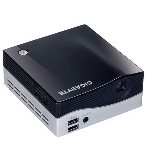 Gigabyte BRIX GB-BXPi3-4010 Ultra Compact PC Barebone with Integrated Projector