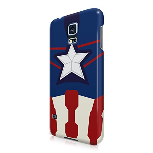 Captain America Suit The Avengers Superhero Hard Snap-On Protective Case Cover For Samsung Galaxy S5