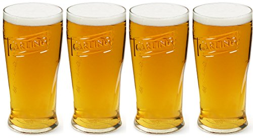 carling-pint-glasses-20oz-568ml-box-of-4-original-official-and-genuine-height-170mm