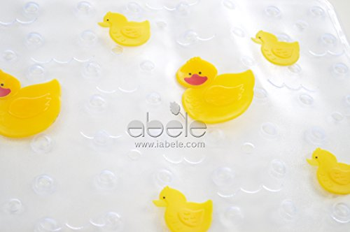 abele r duck baby kids safety tub shower non slip bath mat skid proof and. Black Bedroom Furniture Sets. Home Design Ideas