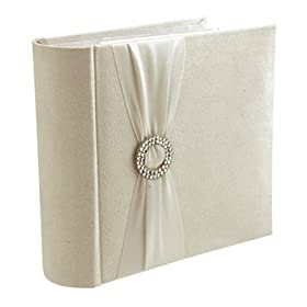 Malden Suede Wedding Diamond Photo Album