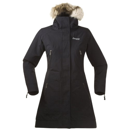 Bergans Vollen Insulated Lady Coat, Size:XL;Colours:Black