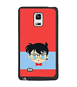 PrintDhaba Cartoon D-3938 Back Case Cover for SAMSUNG GALAXY NOTE 4 (Multi-Coloured)