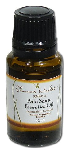 Shamans Market Palo Santo Essential Oil - Ecuador -15 ml