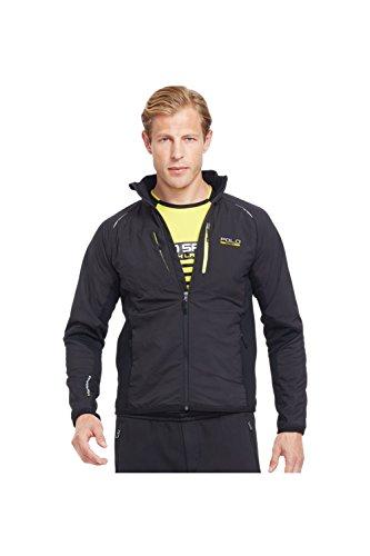 Polo Sport Hybrid Tech Jacket-Black (XX-Large)