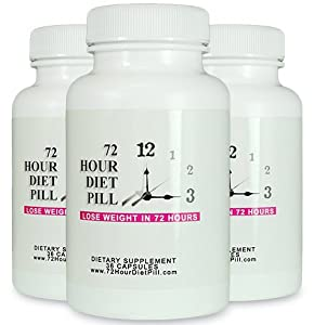 72 Hour Diet Pill 3 Pack - 72 Hour Detox - 72 Hour Diet - Best Detox Pill That Works Within 72 Hours by 72 Hour Diet Pill