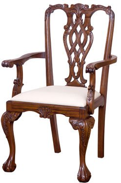 Massachusetts Chippendale Armchair