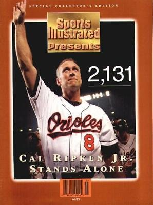 1995 Cal Ripken 2131 Commemorative Sports Illustrated