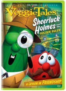 Veggie Tales: Sheerluck Holmes and the Golden Ruler - DVD
