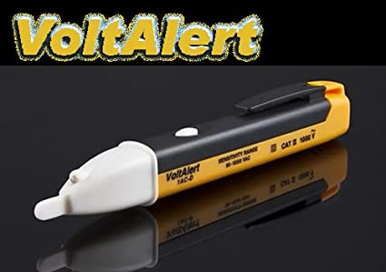 Gadget-Heros-Non-Contact-Voltage-Alert-Pocket-Pen-90-1000V-Voltage-Detector-With-LED-Light-Yellow